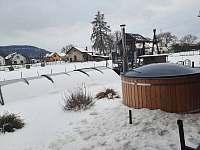 Vířivka v zimě - Březina
