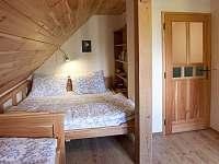 Apartmán č.1 -ložnice - chalupa ubytování Pelešany