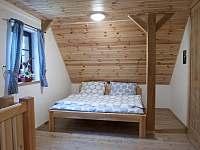 Apartmán č.2-ložnice - chalupa k pronájmu Pelešany