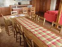 Společenská místnost - rekreační dům ubytování Koberovy - Zbirohy