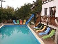 Velký bazén - rekreační dům k pronajmutí Koberovy - Zbirohy