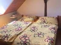 Apartmán Kněžnice - ložnice v podkroví - pronájem