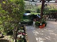 Apartmán Kněžnice - terasa - k pronájmu