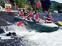 Oblíbený rafting na Jizeře - chalupa k pronajmutí Turnov - Dolánky u Turnova