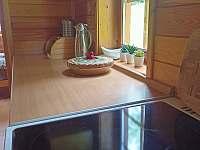 Kuchyň - pronájem chaty Sedliště