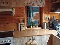 Kuchyně - pronájem chaty Sedliště