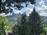 výhled od chaty - k pronajmutí Ktová