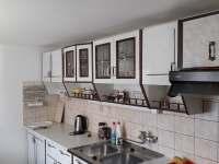 Kuchyň - chalupa ubytování Rovensko pod Troskami