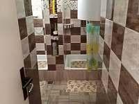kopelna 2x sprchový kout - pronájem apartmánu Příšovice