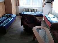 Pokoj č. 1, lůžka lze upravovat dle přání klienta - apartmán ubytování Příšovice