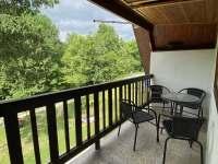 Balkon v 1. patře - Markvartice - Skuřina