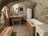 Koupelna - chalupa k pronájmu Turnov - Bukovina