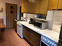 Kuchyň - chata k pronajmutí Benešov u Semil