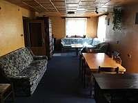 Obývací pokoj - chalupa ubytování Krčkovice