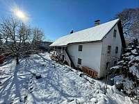 Chalupa v zimě - Soběslavice