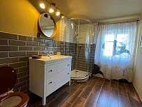 Koupelna - apartmán ubytování Soběslavice