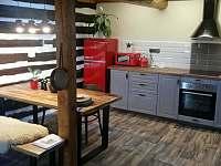 Kuchyňský kout - apartmán ubytování Soběslavice