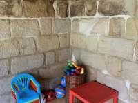 Dětský koutek - apartmán k pronajmutí Karlovice - Roudný