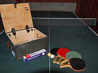 Ubytování U křížku / ping pong stůl - Hrachovice