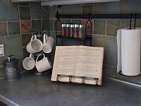 Ubytování U křížku / vybavení kuchyně - chalupa ubytování Hrachovice