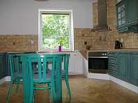 kuchyň - apartmán ubytování Turnov