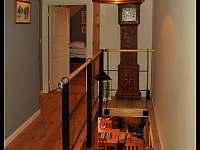 Chodba a schody - chalupa k pronájmu Modřišice - Podháj