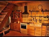 Kuchyň pro hospodyňky - chalupa ubytování Modřišice - Podháj