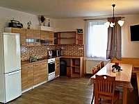 Kuchyně - pronájem chalupy Loučky