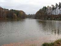 rybník Roudný - chata k pronajmutí Karlovice - Roudný