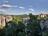 Skalní město Hrubá Skála - pronájem chaty Karlovice - Roudný