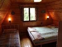 Velká ložnice - pronájem chaty Karlovice - Roudný