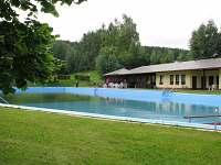 koupaliště v obci - Mlázovice