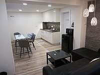 Apartmány U Lípy obývací pokoj - ubytování Tatobity