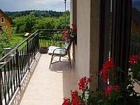 Apartmán I - balkón - k pronájmu Jenišovice