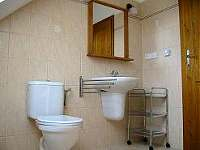 koupelna apartmánu C - pronájem Mírová pod Kozákovem
