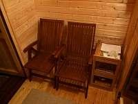 sauna odpočívárna - Ktová
