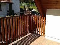balkon - chalupa k pronájmu Turnov - Pelešany