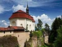 hrad Valdštejn (cca.15 min.pěšky lesem) - Turnov - Pelešany
