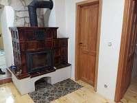 Panský apartmán - kamna