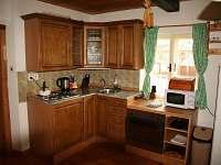 Selský apartmán - kuchyňský kout