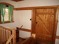 Selský apartmán - schodiště