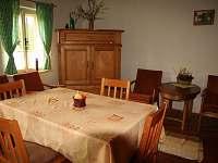 Selský apartmán - společenská místnost
