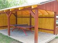 ping-pong pod střechou
