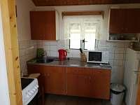 kuchyň - apartmán k pronajmutí Hrubá Skála - Doubravice