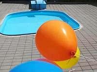 Dětský bazén - ubytování Sobotka