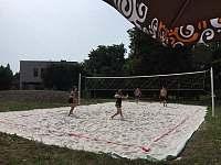 Hřiště na beachvolejbal - Sobotka