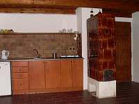 Domek-kuchyň.kout - pronájem apartmánu Malá Skála