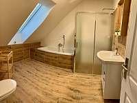 Apartmán 7 koupelna - ubytování Holín
