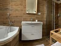 Koupelna apartmán 4 - ubytování Holín