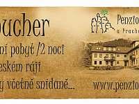 Nabízíme dárkové poukazy na ubytování - Holín